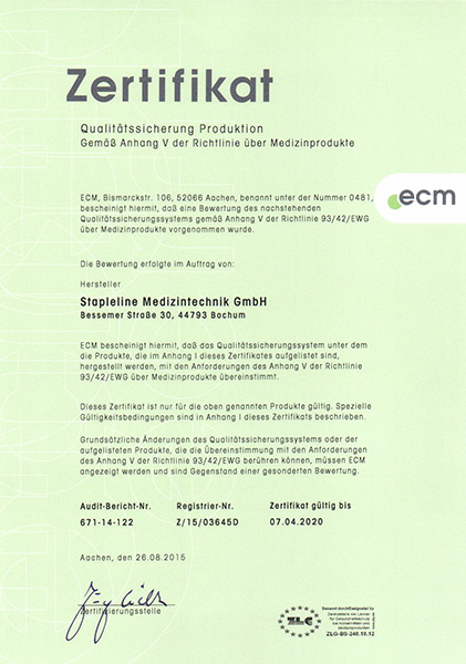 Home - Stapleline Medizintechnik GmbH