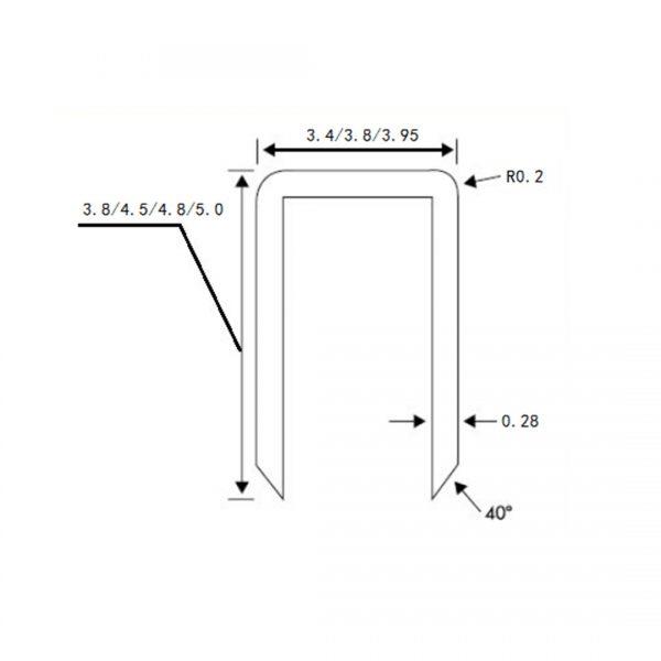 Zirkuläres Klammernahtinstrument Koloproktologie Grafik