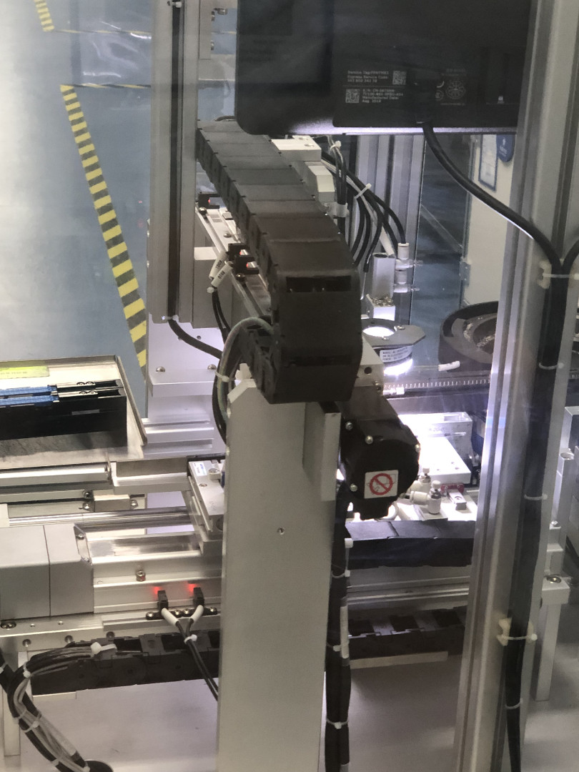 Produktion Stapler Maschine